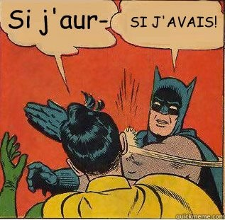 Batman et le conditionnel