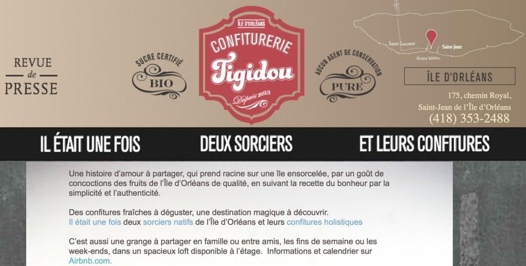 La confiturerie Tiguidou