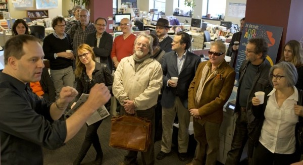 Le Devoir des écrivains, 19 novembre 2013