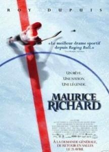 Affiche du film Maurice Richard (2005) de Charles Binamé
