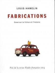 Louis Hamelin, Fabrications, 2014, couverture