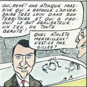 Arsène et Girerd, On a volé la coupe Stanley, 1975, p. 39
