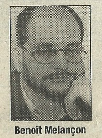 Benoît Melançon, portrait
