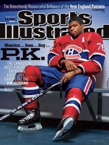 Couverture de l'édition canadienne de Sports Illustrated, décembre 2014