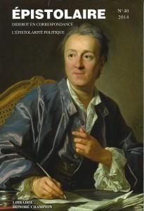 Revue Épistolaire, 40, 2014, couverture