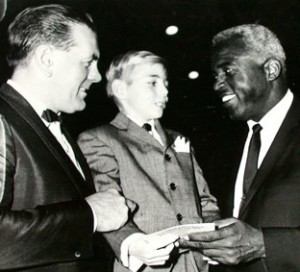 Jackie Robinson et Maurice Richard