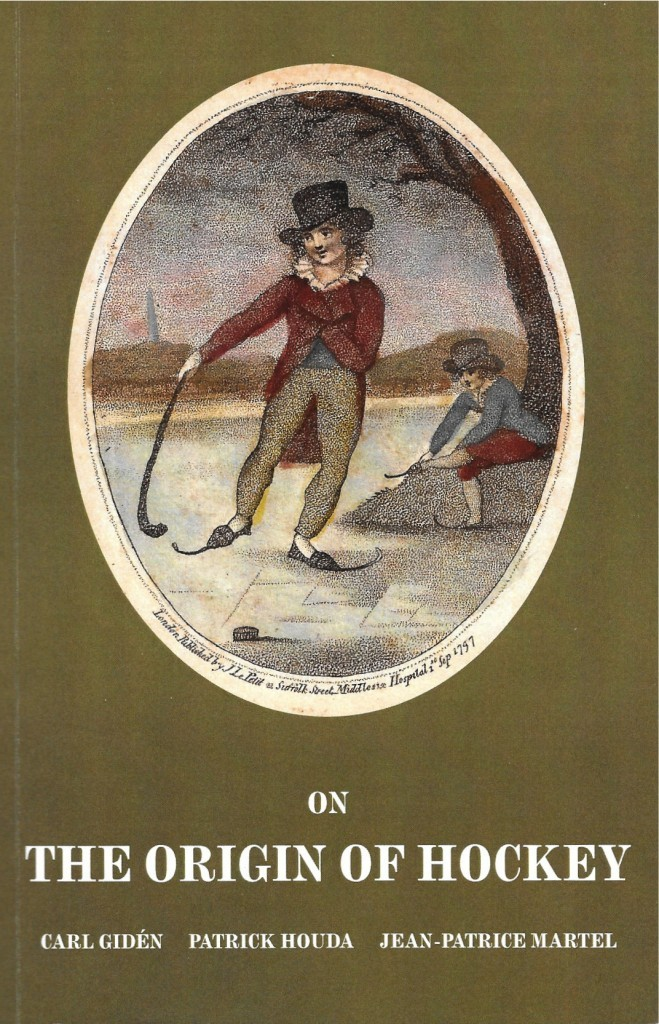 Gidén, Houda et Martel, On the Origin of Hockey, 2014, couverture