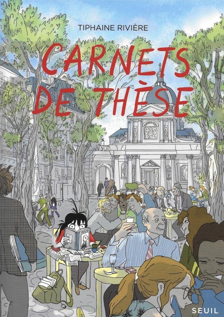Tiphaine Rivière, Carnets de thèse, 2015, couverture