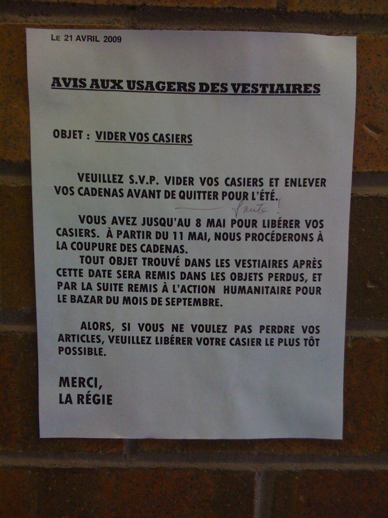 «Quitter» serait une «faute», Université de Montréal, 17 juin 2009