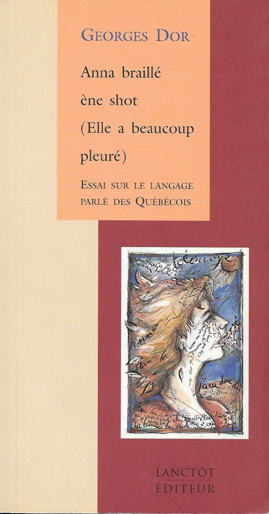 Georges Dor, Anna braillé ène shot, 1996, couverture