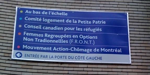 Le FRONT, rue Drolet, à Montréal, 30 juin 2009