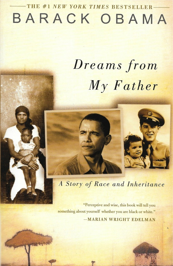 Barack Obama, Dreams from my Father, 1995, couverture