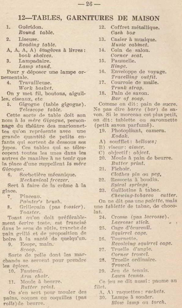 Étienne Blanchard, 2000 mots bilingues par l'image, p. 26