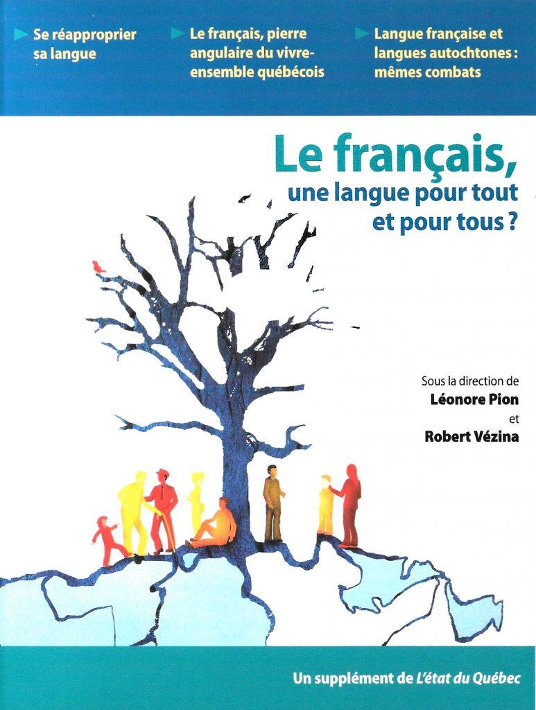 Le français, une langue pour tout et pour tous ?, 2009, couverture
