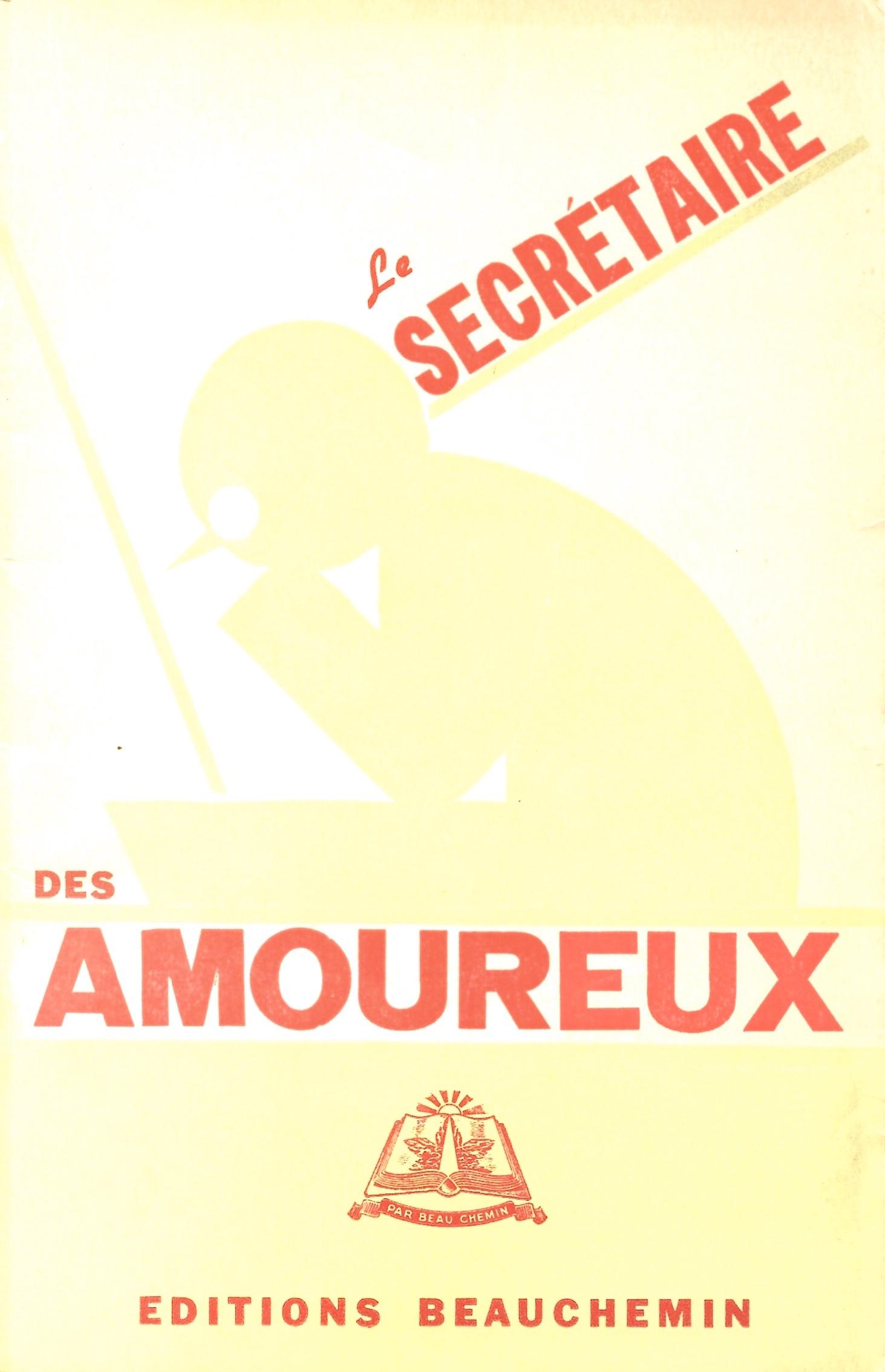 Le Secrétaire des amoureux, 1917, couverture