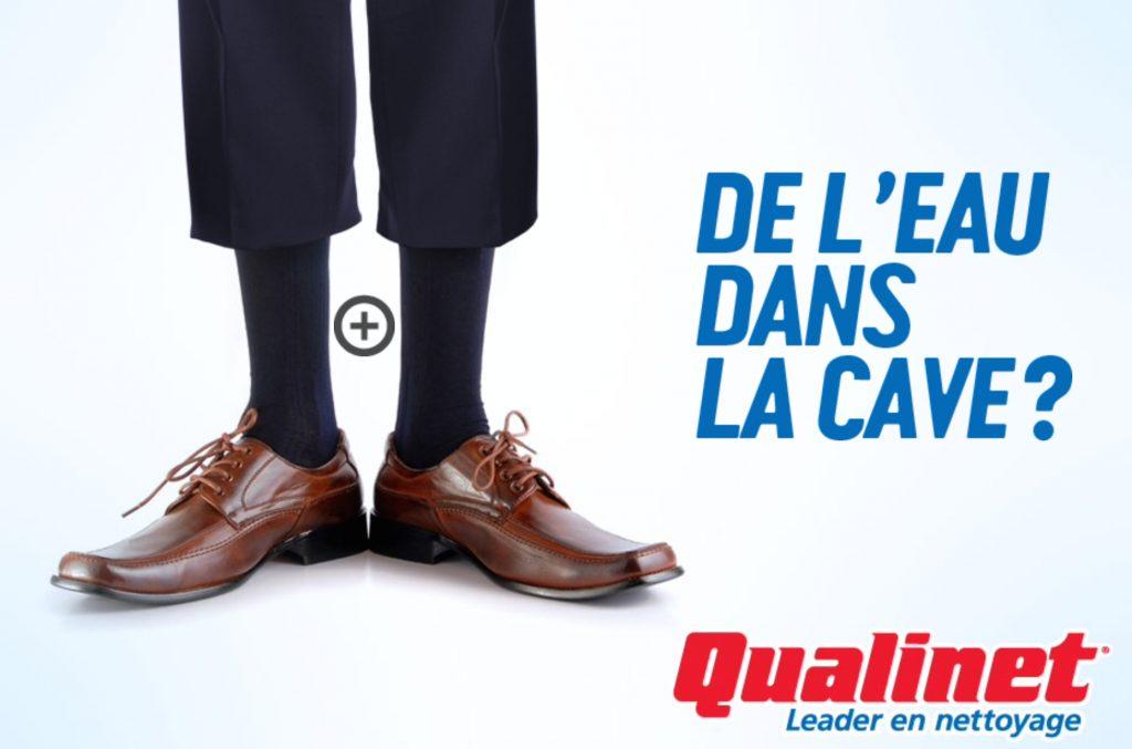 Publicité de Qualinet, la Presse+, 16 août 2014