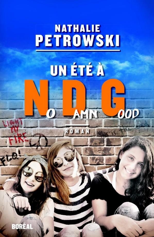 Nathalie Petrowski, Un été à NDG, 2016, couverture