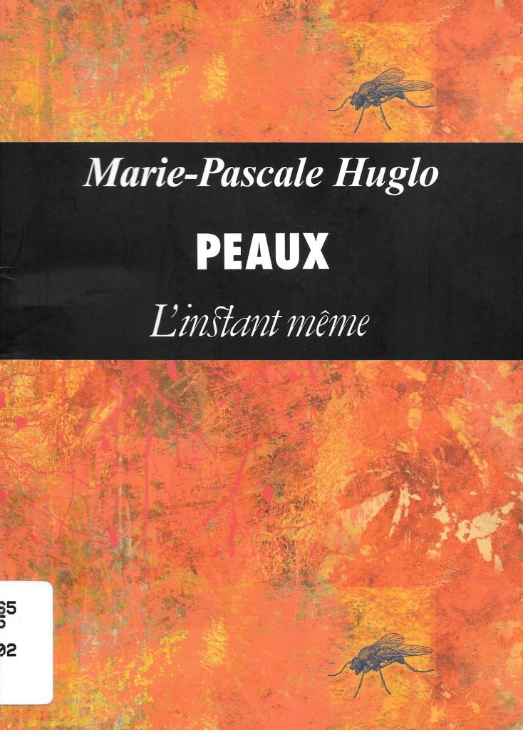 Marie-Pascale Huglo, Peaux, 2002, couverture