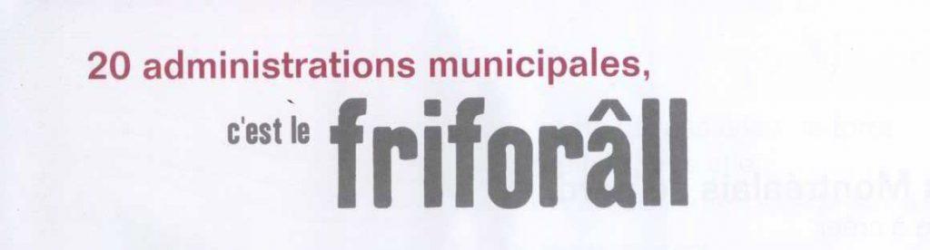 Le friforâll, publicité syndicale, 2010