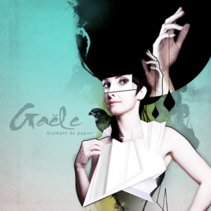Gaële, Diamant de papier, 2010, pochette