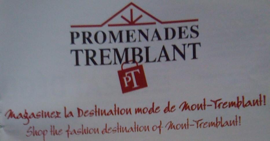 Promenades Mont-Tremblant, Mont-Tremblant, 2010, publicité