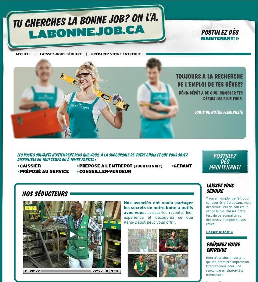 Rébo-Dépôt, publicité, 2010