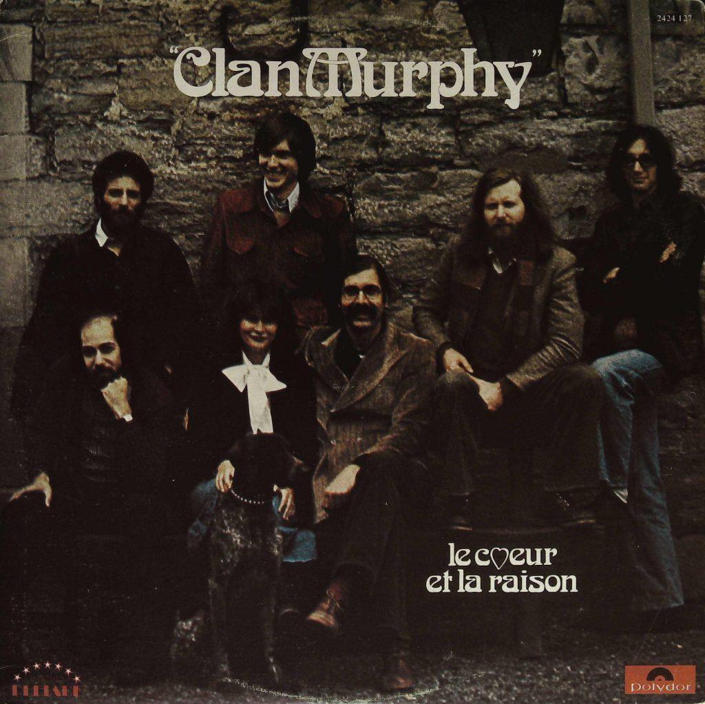 Le Clan Murphy, Le cœur et la raison, 1976, pochette