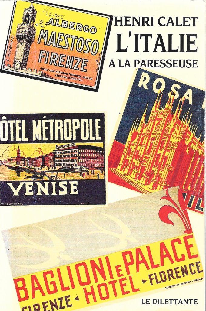 Henri Calet, l'Italie à la paresseuse, 1950, couverture