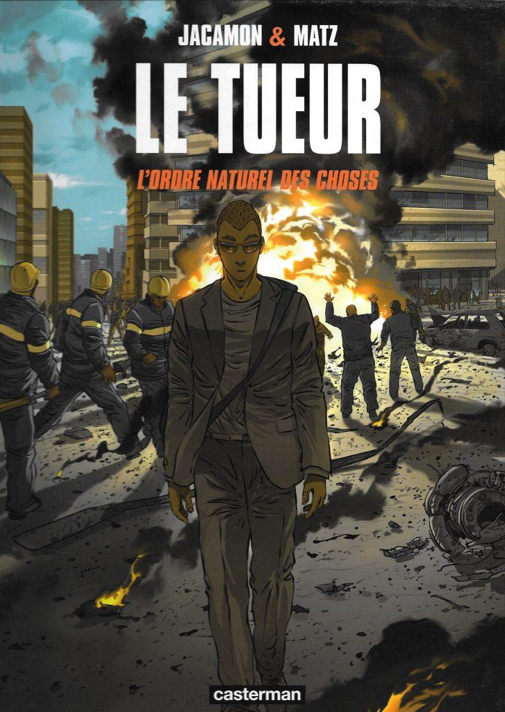 Le Tueur. Volume 8. L'ordre naturel des choses, 2010, couverture
