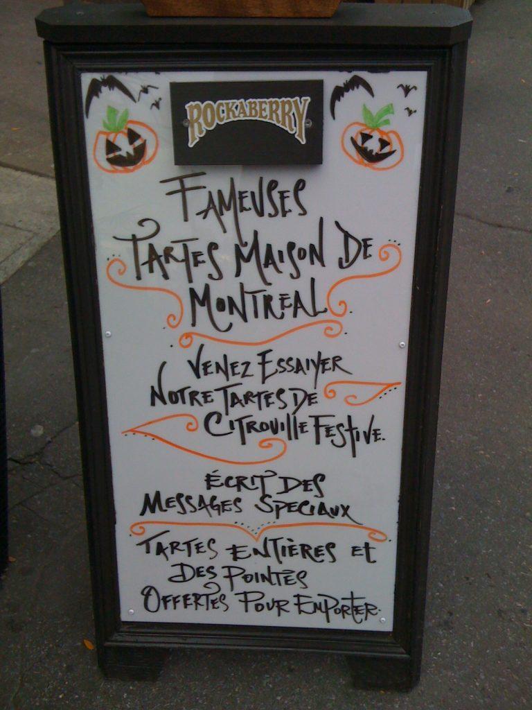 «Citrouille festive», rue Monkland, Montréal, 5 octobre 2010