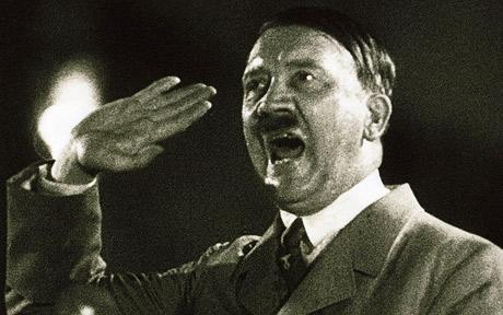 Portrait d'Adolf Hitler