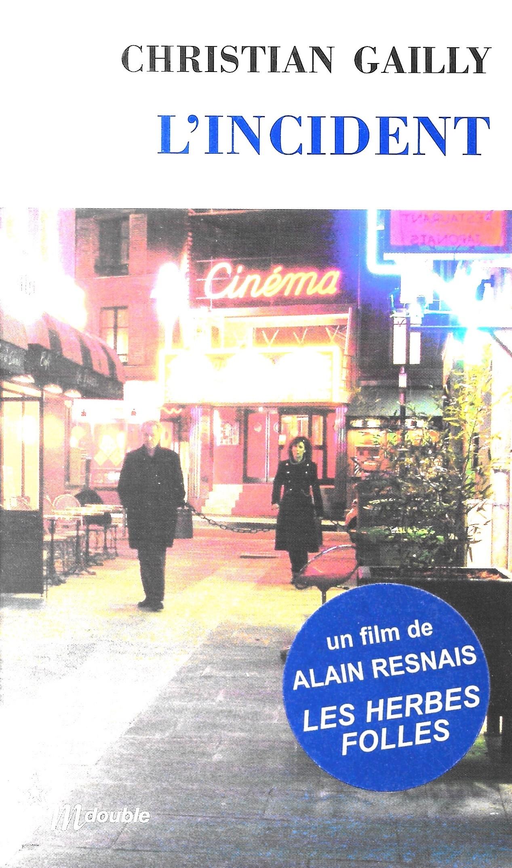 Christian Gailly, l'Incident, éd. de 2009, couverture