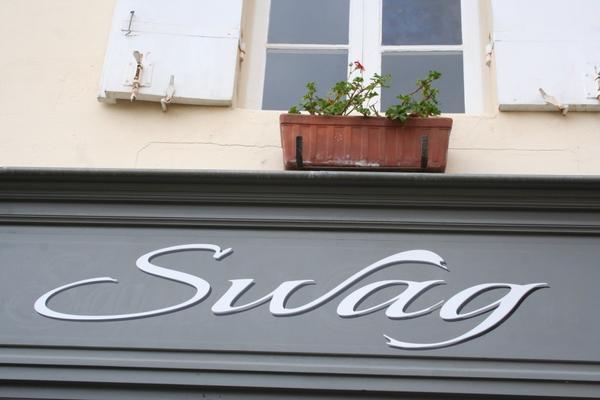 «Swag», Saint-Émilion, novembre 2012
