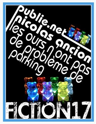 Nicolas Ancion, Les ours n'ont pas de problème de parking, éd. de 2011, couverture