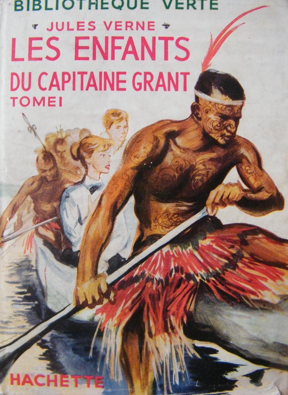Jules Verne, les Enfants du capitaine Grant, couverture
