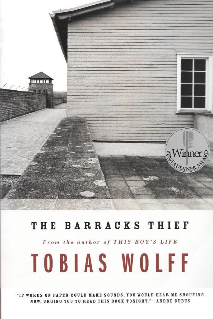 Tobias Wolff, The Barracks Thief, 1984, couverture
