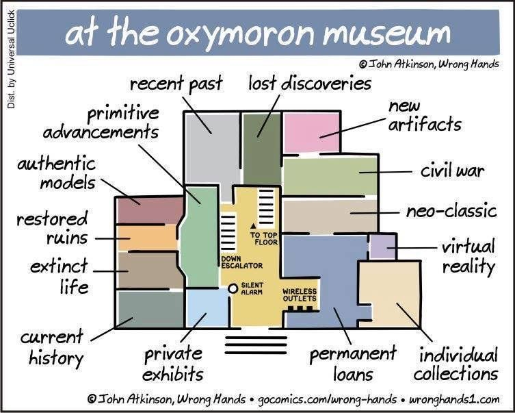 Muséologie et oxymores