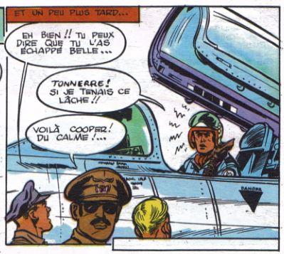 Une case de l'Escadrille des jaguars (publication en album)