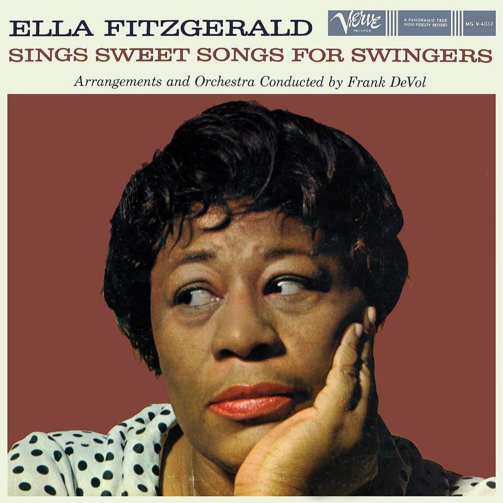 Ella Sings Sweet Songs for Swingers, 1959, pochette