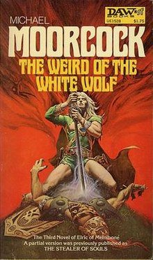 The Weird of the White Wolf, couverture