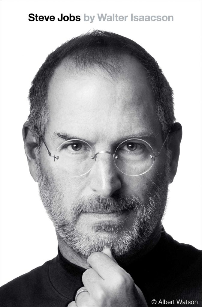 Walter Isaacson, Steve Jobs, 2011, couverture