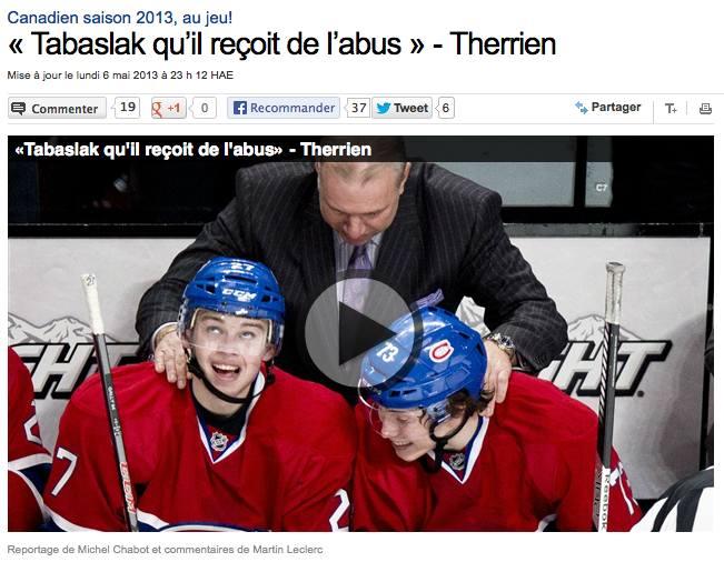 Radio-Canada, 7 mai 2013