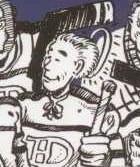 Émile «Butch» Bouchard en bande dessinée
