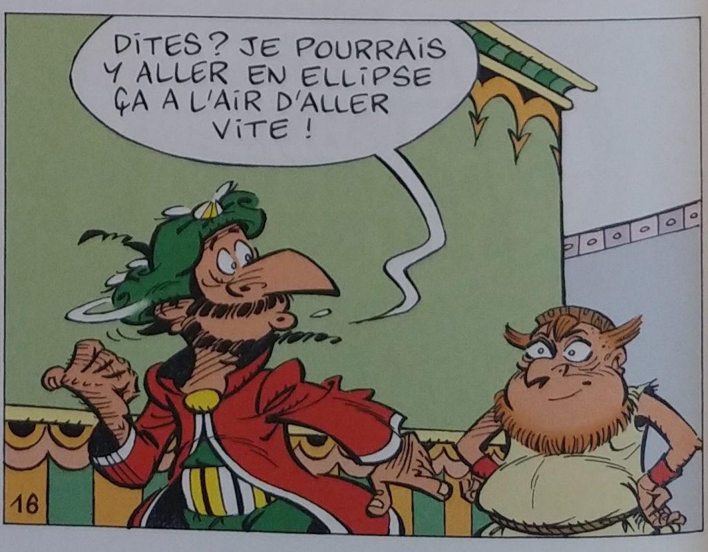 Laurent Vassilian et Nicolas Tabary, De père en fils !, 2015, p. 18, détail