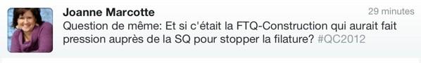 Le français de Johanne Marcotte