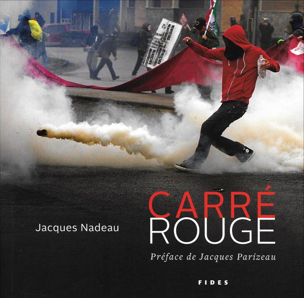 Jacques Nadeau, Carré rouge, 2012, couverture