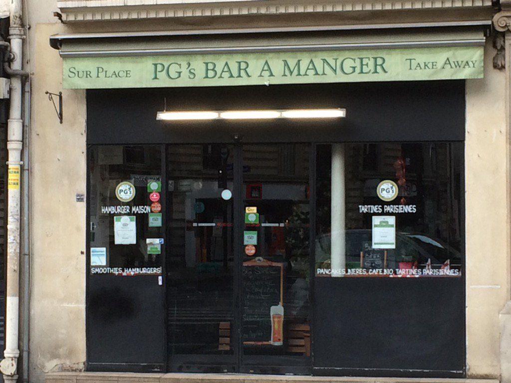 Bar à manger, rue d'Assas, Paris 75006