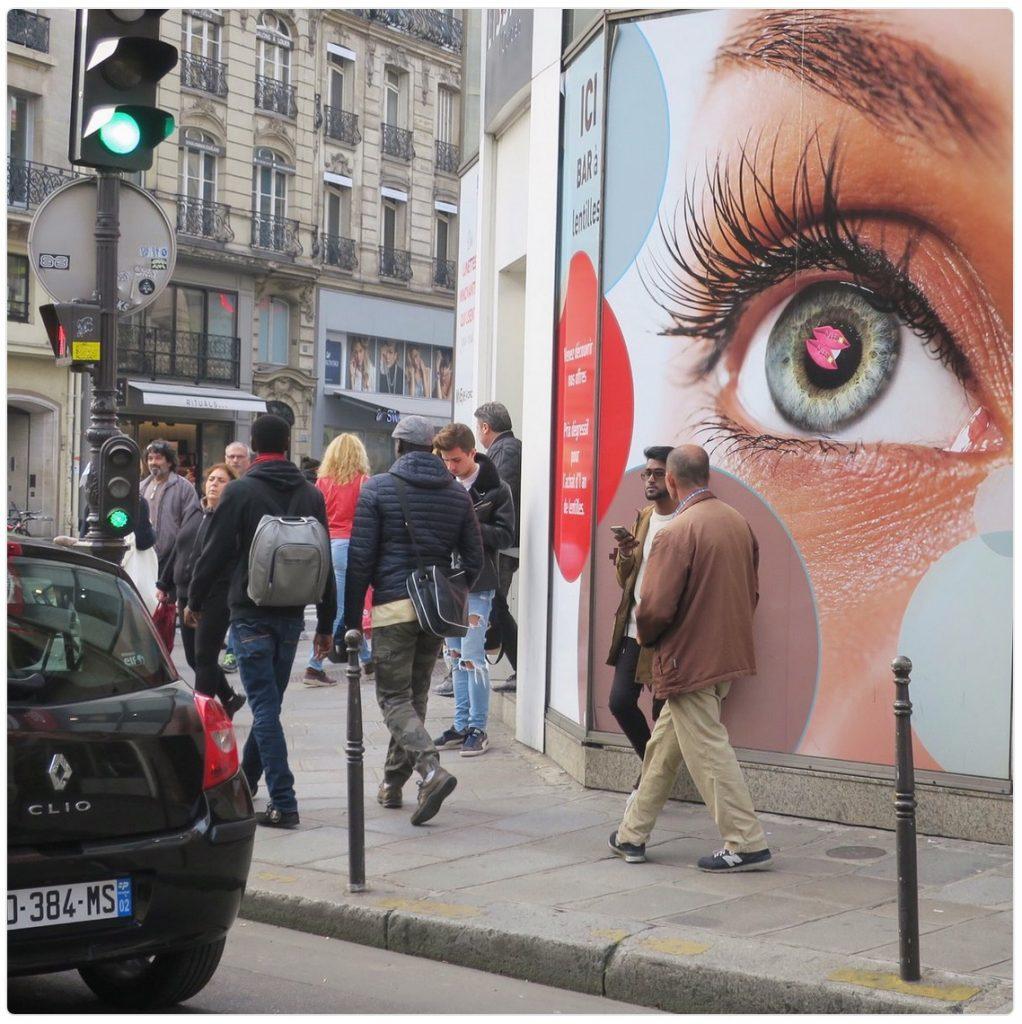 Bar à lentilles, Paris, novembre 2017