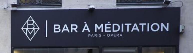 Bar à méditation, Paris, 2017