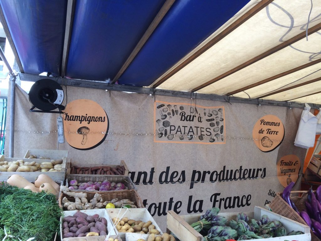 Bar à patates, Paris, août 2019
